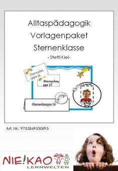 """Alltagspädagogik - Vorlagenpaket """"Sternenklasse"""""""