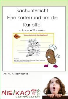 Sachunterricht - Eine Kartei rund um die Kartoffel