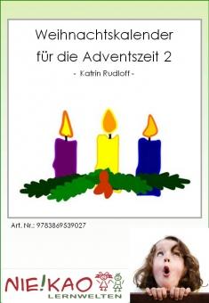Weihnachtskalender für die Adventszeit 2