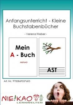 Anfangsunterricht - Kleine Buchstabenbücher