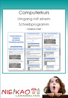 Computerkurs - Umgang mit einem Schreibprogramm