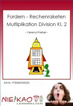 "Fordern - Rechenraketen ""Multiplikation Division Kl. 2"""
