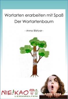Wortarten erarbeiten mit Spaß - Der Wortartenbaum