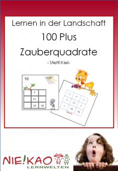 Lernen in der Landschaft 100 Plus - Zauberquadrate