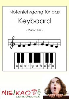 Notenlehrgang für das Keyboard