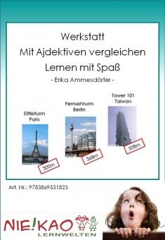 """Werkstatt - """"Mit Adjektiven vergleichen"""" - Lernen mit Spaß"""