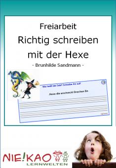 Freiarbeit - Richtig schreiben mit der Hexe download