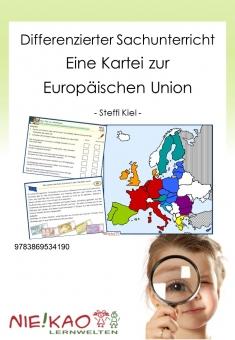Differenzierter Sachunterricht - Eine Kartei zur Europäischen Union