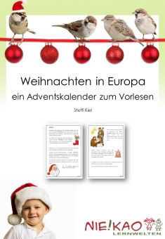Weihnachten in Europa - Adventskalender und Werkstatt -