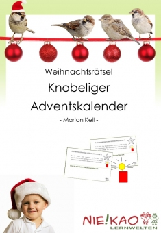 Weihnachtsrätsel - Knobeliger Adventskalender