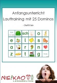 Anfangsunterricht-Lauttraining mit Dominos Einzel-CD