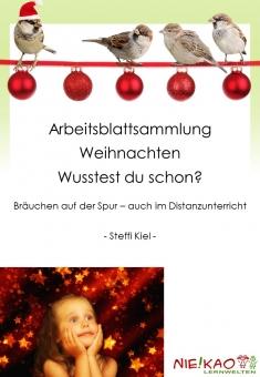 Arbeitsblattsammlung Weihnachten - Wusstest du schon?