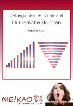 Anfangsunterricht Montessori - Numerische Stangen