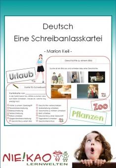 Deutsch - Eine Schreibanlasskartei Einzel-CD
