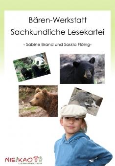 Die Bären-Werkstatt - eine sachunterrichtliche Lesekartei