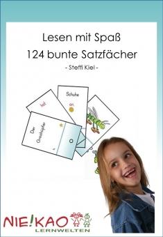 Lesen mit Spaß - 124 bunte Satzfächer