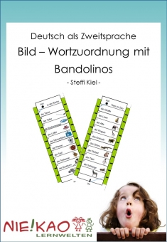 DaZ- Bild-Wortzuordnung mit Bandolinos