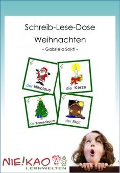 Schreib-Lese-Dose Weihnachten