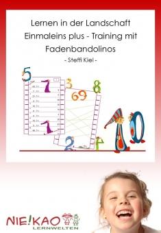 Lernen in der Landschaft Einmaleins plus - Training mit  Fadenbandolinos