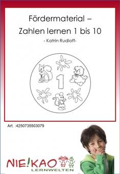 Fördermaterial - Zahlen lernen 1 bis 10 CD-ROM
