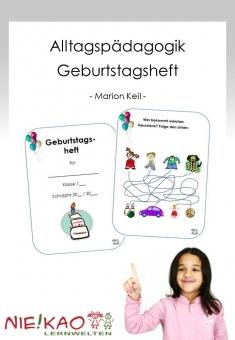 Alltagspädagogik - Geburtstagsheft