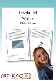 Lesekartei - Wetter
