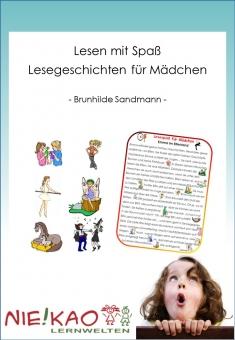 Lesen mit Spaß - Lesegeschichten für Mädchen