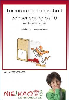 Lernen in der Landschaft - Zahlzerlegung ZR 10 CD