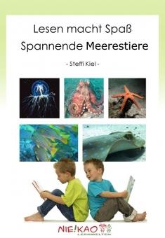 Lesen macht Spaß - Spannende Meerestiere