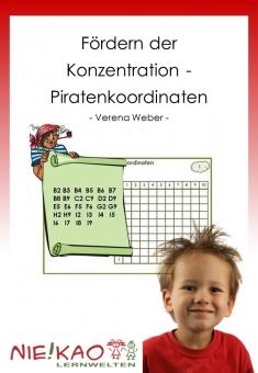 Fördern der Konzentration - Piratenkoordinaten