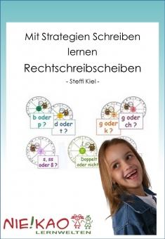 Mit Strategien Schreiben lernen - Rechtschreibscheiben