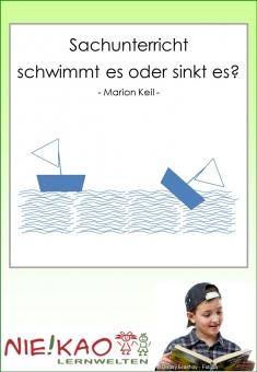 Sachunterricht - Schwimmt es oder sinkt es?