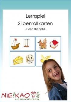 Lernspiel - Silbenrollkarten