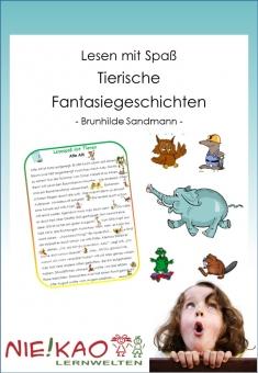 Lesen mit Spaß - Tierische Fantasiegeschichten
