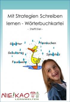 Mit Strategien Schreiben lernen - Wörterbuchkartei
