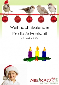 Weihnachtskalender für die Adventszeit