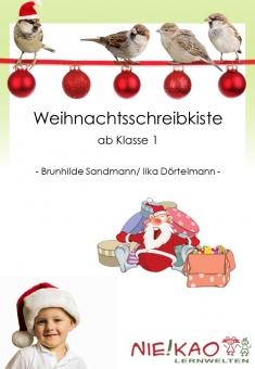 Weihnachtsschreibkiste