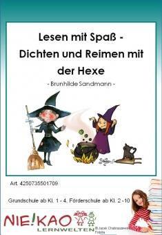 Lesen mit Spaß - Dichten und Reimen mit der Hexe