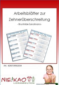 Arbeitsblätter zur Zehnerüberschreitung
