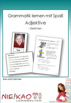 Grammatik lernen mit Spaß - Adjektive download