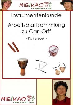 Musikwerkstatt - Orff - Instrumente
