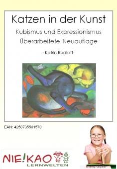 Katzen in der Kunst - Kubismus und Expressionismus
