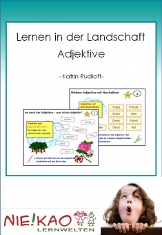 Lernen in der Landschaft - Adjektive download