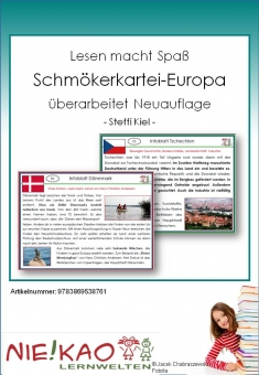 Lesen macht Spaß - Schmökerkartei Europa