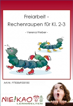 "Freiarbeit - Kartei ""Rechenraupen Kl. 2-3"""