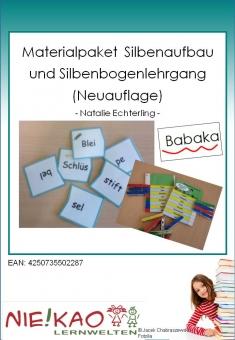 Materialpaket  Silbenaufbau und Silbenbogenlehrgang (Neuauflage)