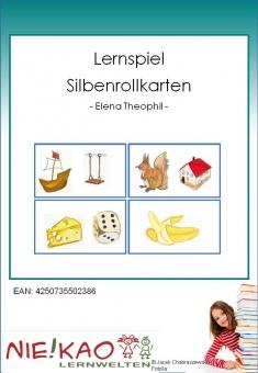 Lernspiel - Silbenrollkarten download