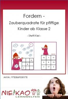 Fordern - Zauberquadrate für pfiffige Kinder ab Kl. 2