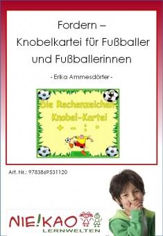Fordern - Knobelkartei für Fußballer und Fußballerinnen