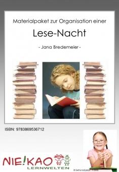 Materialpaket zur Organisation einer Lese-Nacht
